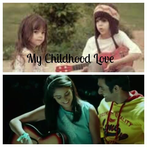 I never forgot my childhood sweetheart