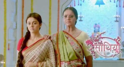 Tomorrow episode of saath nibhana saathiya