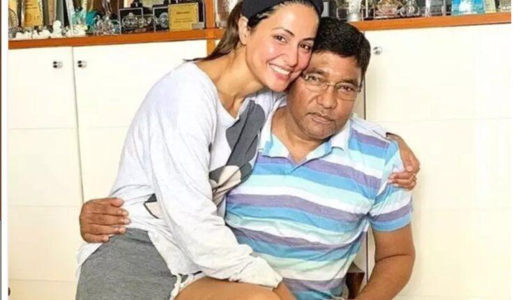 Hina KHan father passes away